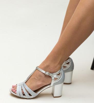 Sandale Antanena Argintii
