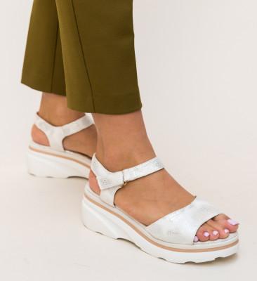 Sandale Arlond Albe