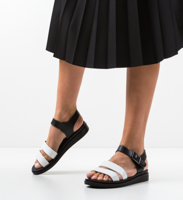 Sandale Beniga Albe