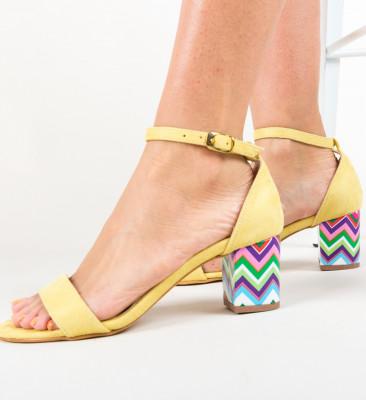 Sandale Calara Galbene