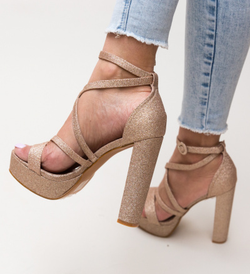 Sandale Carly Aurii