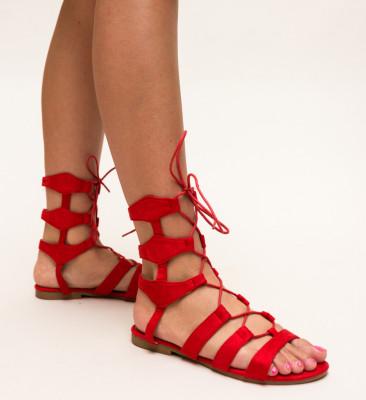 Sandale Chelsie Rosii