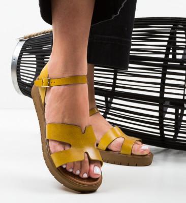 Sandale Clavi Galbene