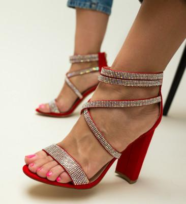 Sandale Conor Rosii