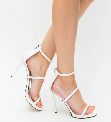 Sandale Cu Toc Kim Albe