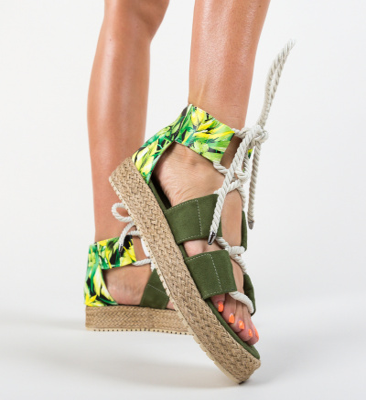 Sandale Darwin verzi