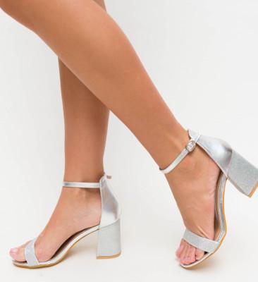 Sandale Davy Argintii
