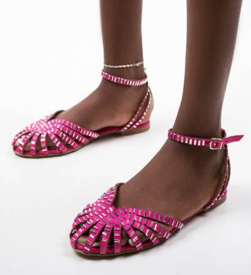 Sandale Egiptan Fuchsia