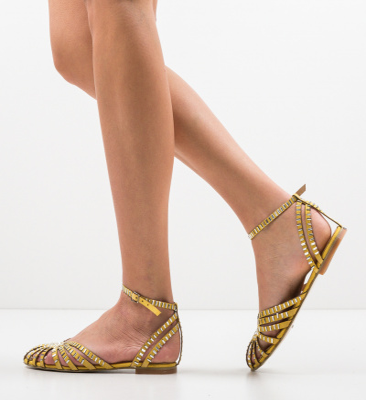 Sandale Egiptan Galbene