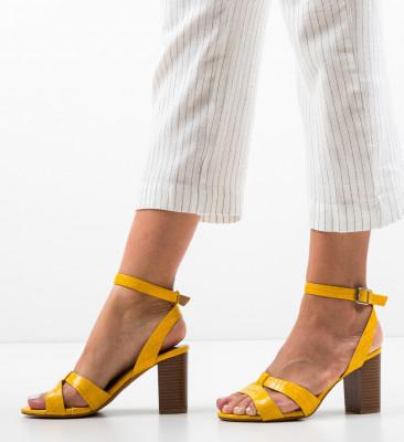 Sandale Eren Galbene