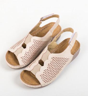 Sandale Paulina Bej 2