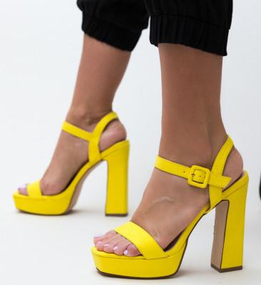 Sandale Poste Galbene