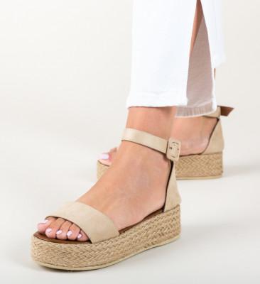 Sandale Saren Bej