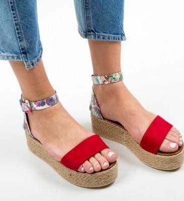 Sandale Sarenva Rosii