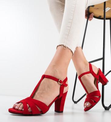 Sandale Survet Rosii