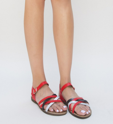 Sandale Verano Rosii