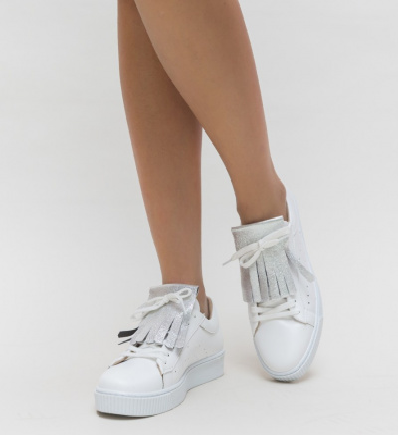 Pantofi Sport Marlen Argintii