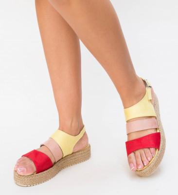 Sandale Firmo Galbene