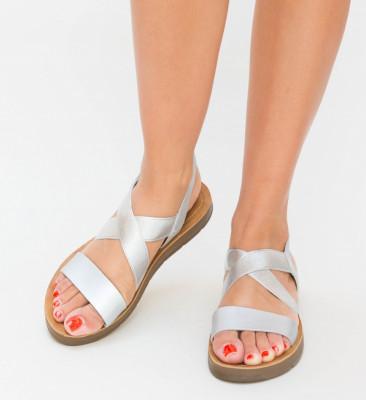 Sandale Mikel Argintii