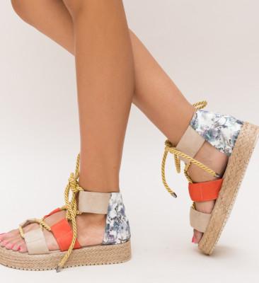 Sandale Boxer Bej
