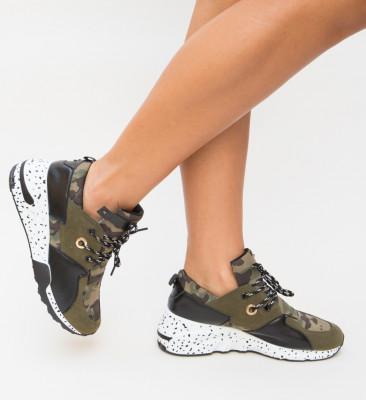Pantofi Sport Huny Khaki