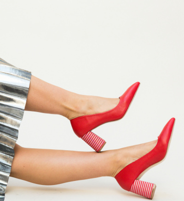 Pantofi Jaylen Rosii