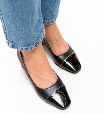 Pantofi Jack Negri
