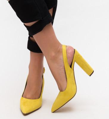 Pantofi Galvan Galbeni