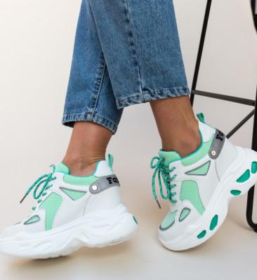 Pantofi Sport Faster Verzi