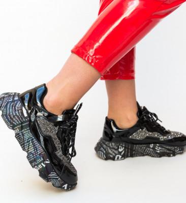 Pantofi Sport Roxette Negri