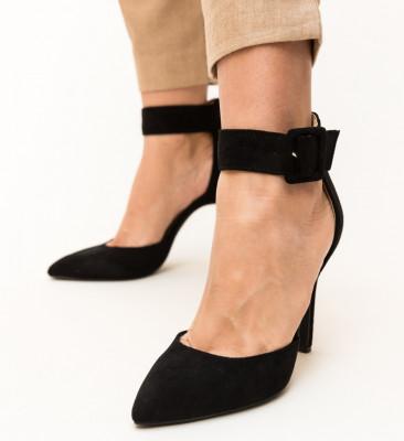 Pantofi Ravlin Negri