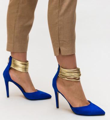 Pantofi Kaia Albastri