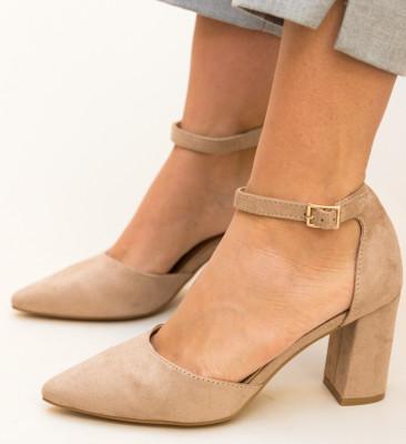 Pantofi Alya Bej