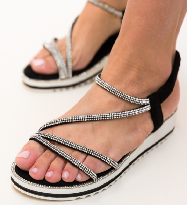 Sandale Baker Negre