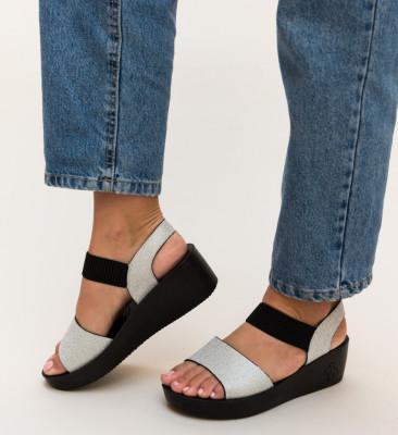 Sandale Cline Argintii