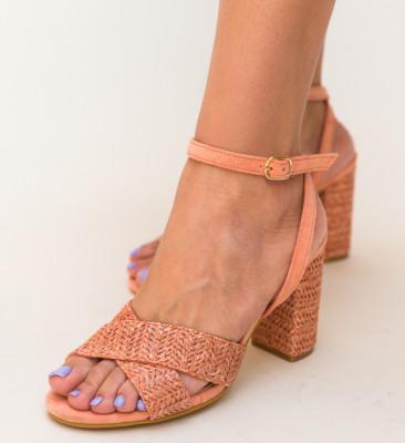 Sandale Deles Portocalii