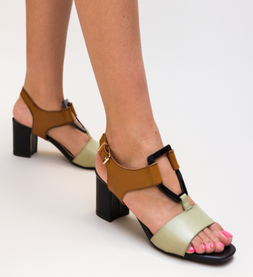 Sandale Scrund Verzi
