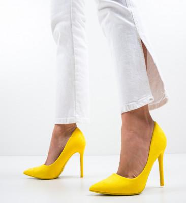 Pantofi Ande Galbeni