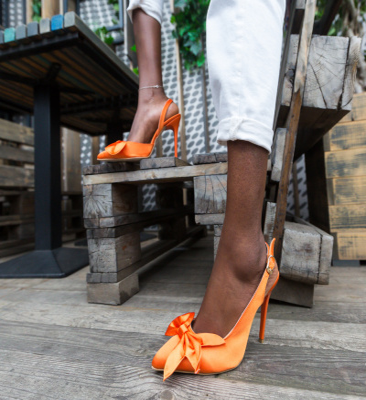 Pantofi Andras Portocaliii