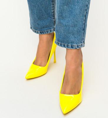 Pantofi Arav Galbeni