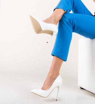 Pantofi Beba Alb
