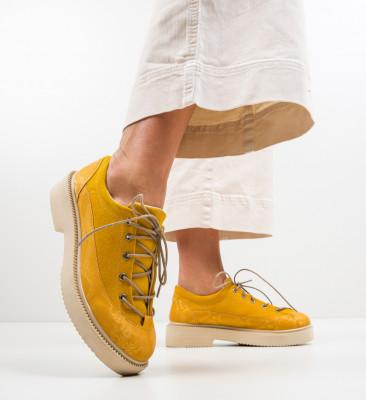Pantofi Casual Alexo Galbene