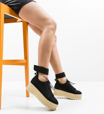Pantofi Casual Brosky Negri