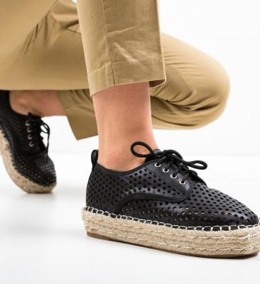 Pantofi Casual Cazori Negri