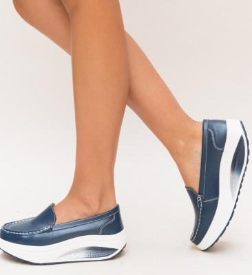 Pantofi Casual Drigo Albastri