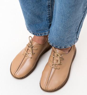 Pantofi Casual Elinch Camel
