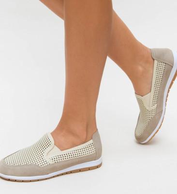 Pantofi Casual Embo Bej