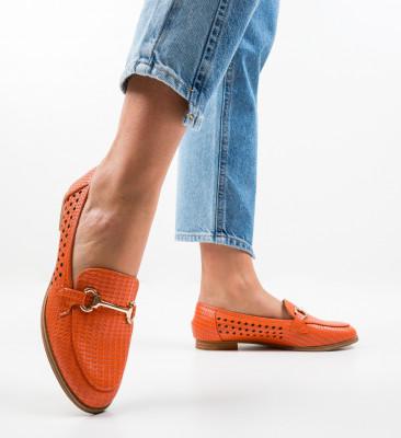 Pantofi Casual Gaia Portocalii
