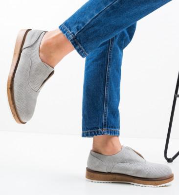 Pantofi Casual Gonaf Gri