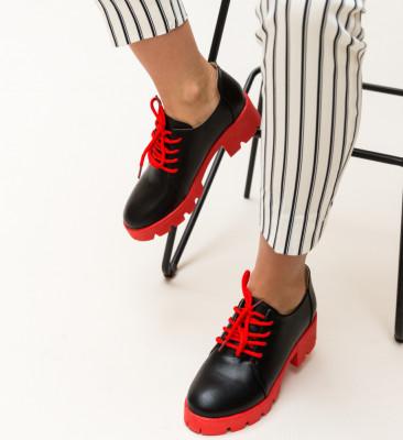 Pantofi Casual Hapino Rosii